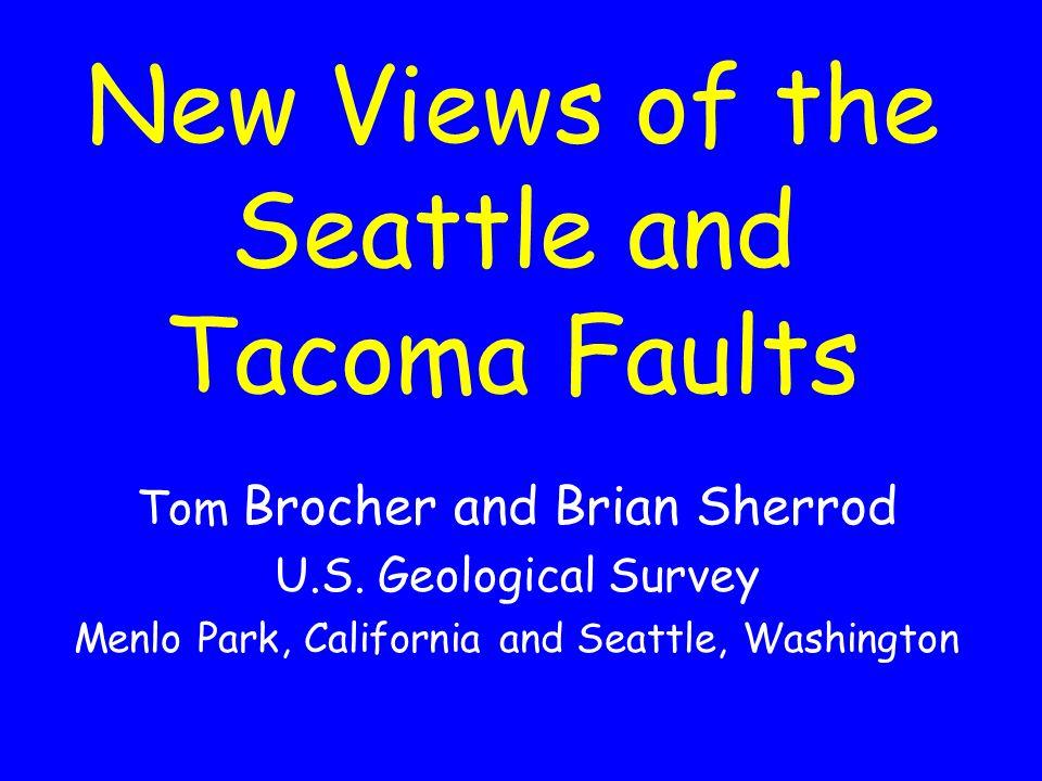 Cascadia eq types { Not an Earthquake!