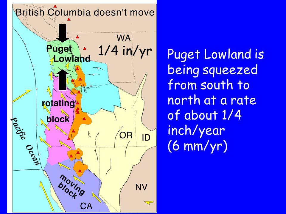 Seattle fault zone Downtown Seattle Seattle fault zone