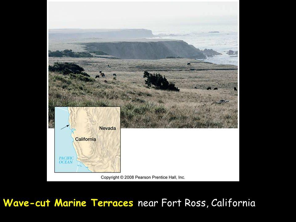 23 Wave-cut Marine Terraces near Fort Ross, California