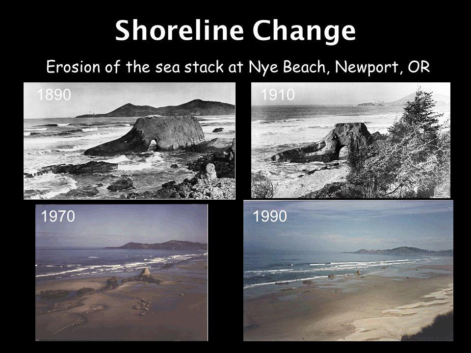 Beach erosion at Saint George Island near Appalachicola, FL destroyed Cape Saint George Lighthouse, built in 1852 1940s 1999 2004 Shoreline Change