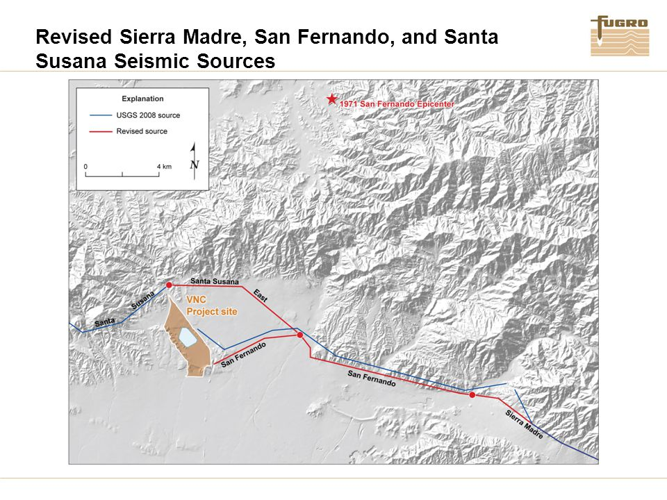 Revised Sierra Madre, San Fernando, and Santa Susana Seismic Sources