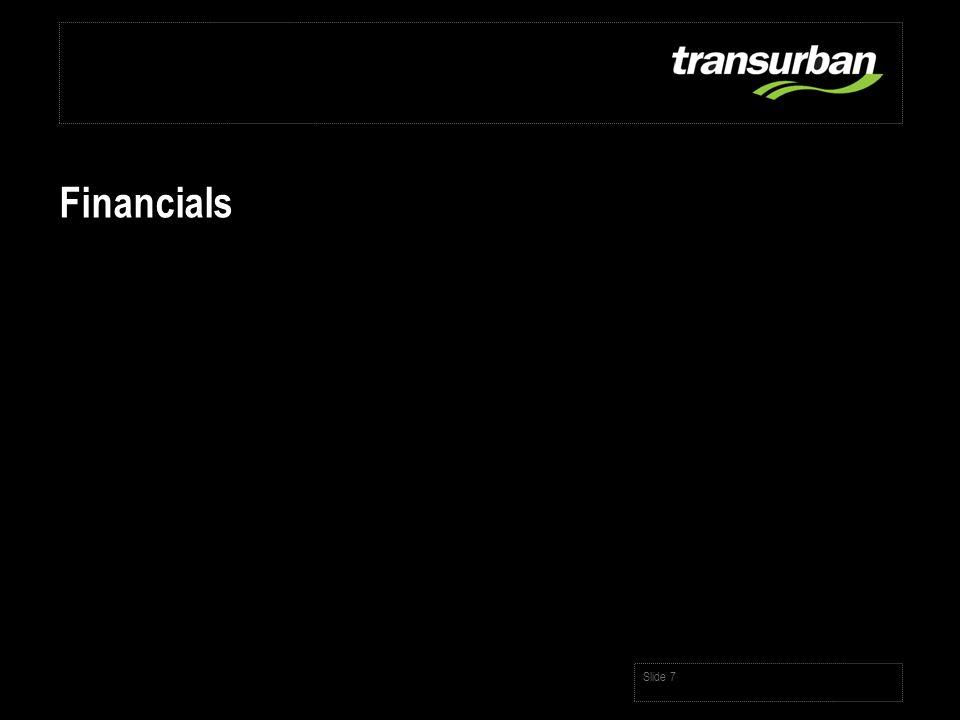 Slide 7 Financials