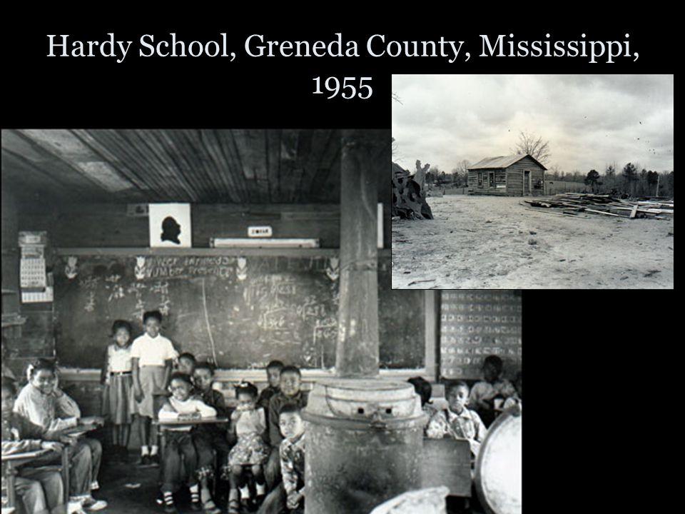 Hardy School, Greneda County, Mississippi, 1955