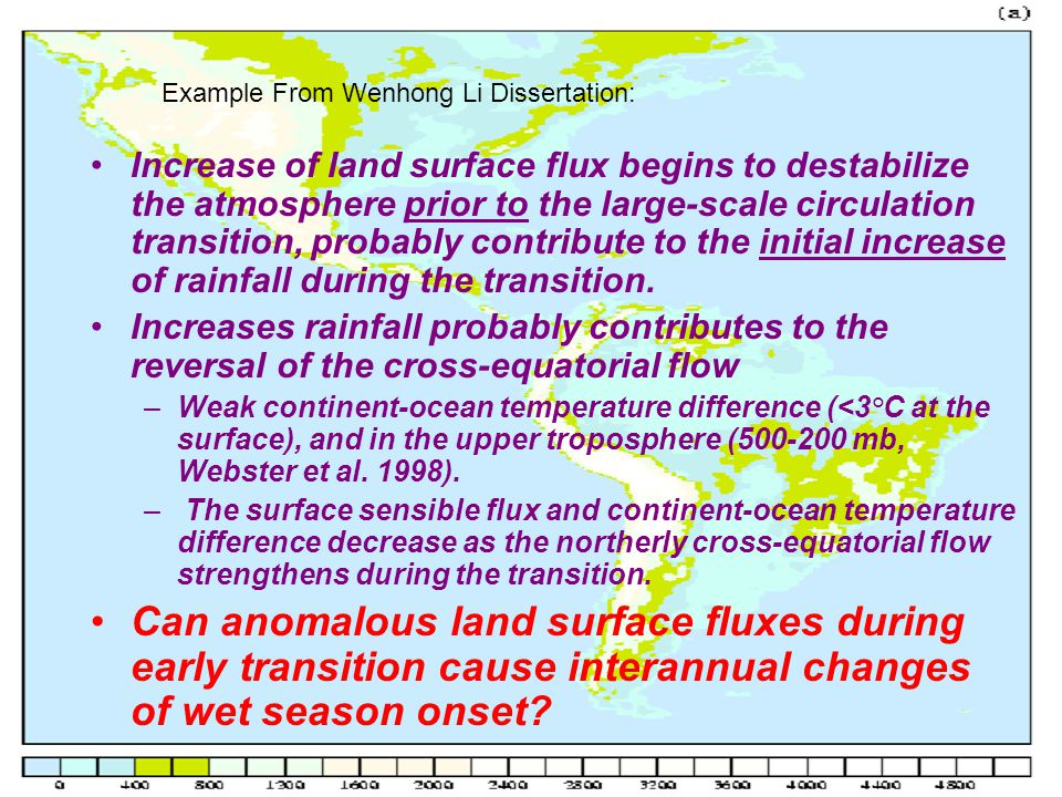 Increase of land surface flux begins to destabilize the atmosphere prior to the large-scale circulation transition, probably contribute to the initial increase of rainfall during the transition.