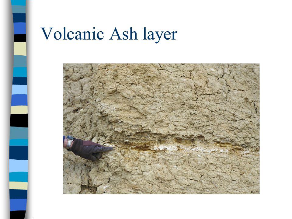 Volcanic Ash layer