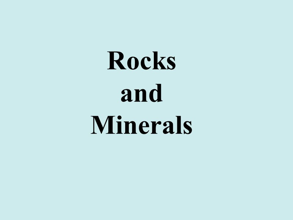 Minerals the building blocks of rocks Mineral Characteristics natural inorganic solid definite composition crystal structure