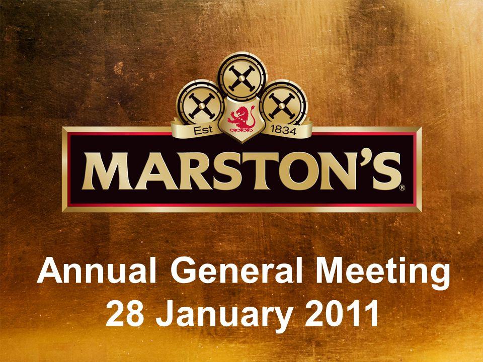 Annual General Meeting 28 January 2011