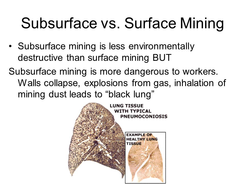 Subsurface vs.