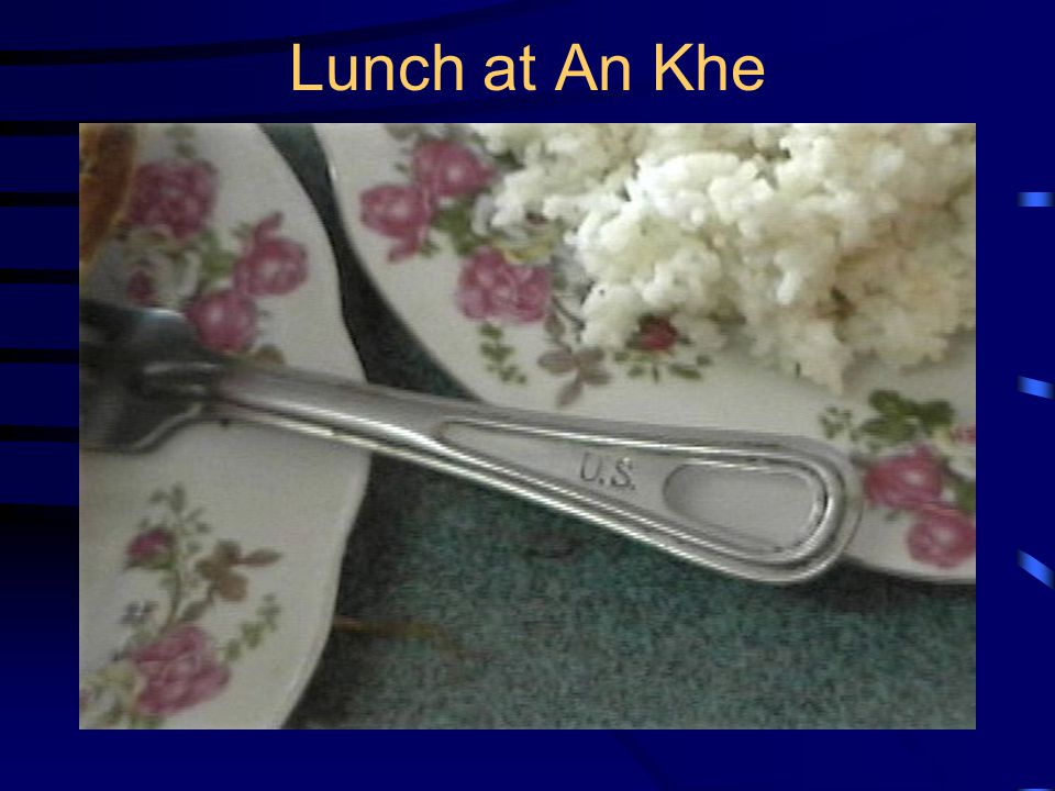 Lunch at An Khe