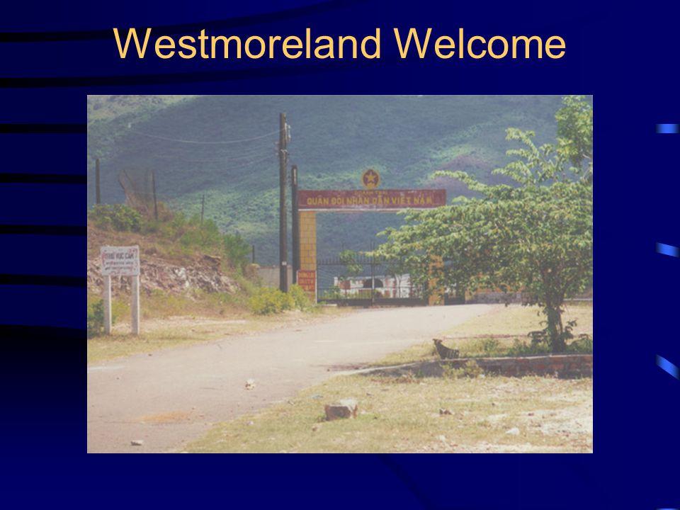 Westmoreland Welcome
