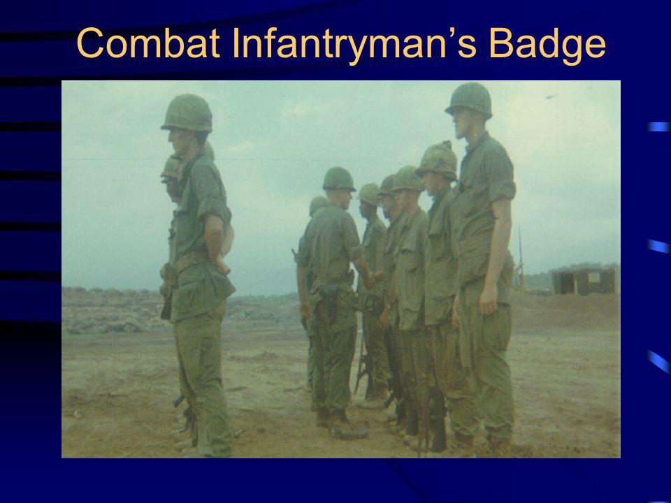 Combat Infantryman's Badge