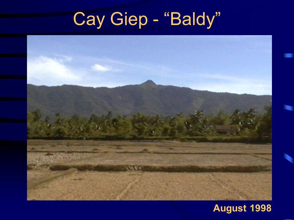 Cay Giep - Baldy August 1998