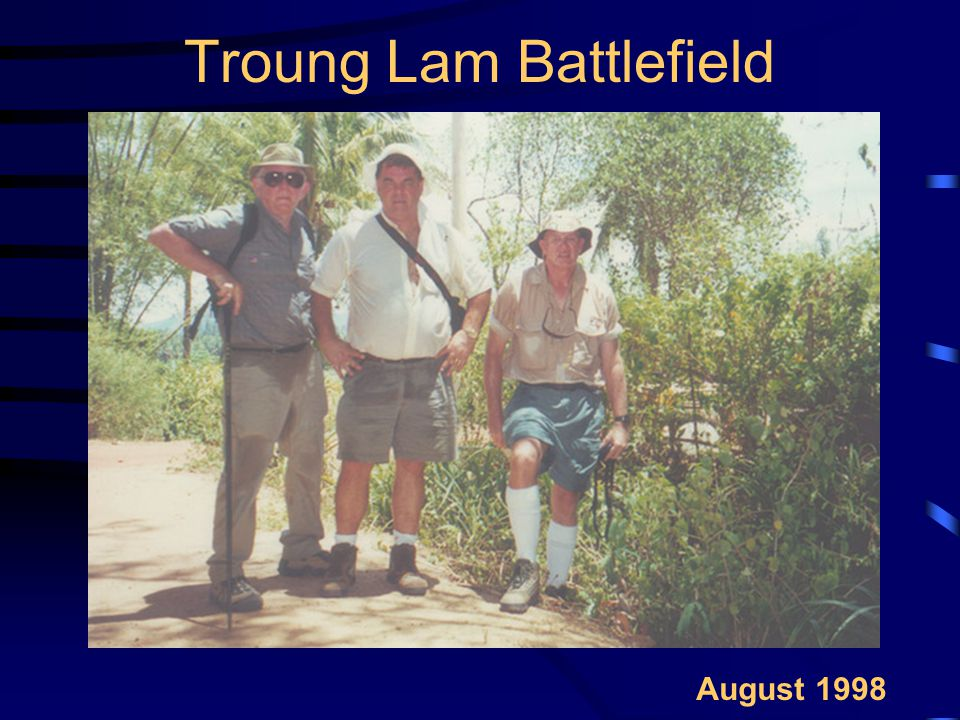 Troung Lam Battlefield August 1998