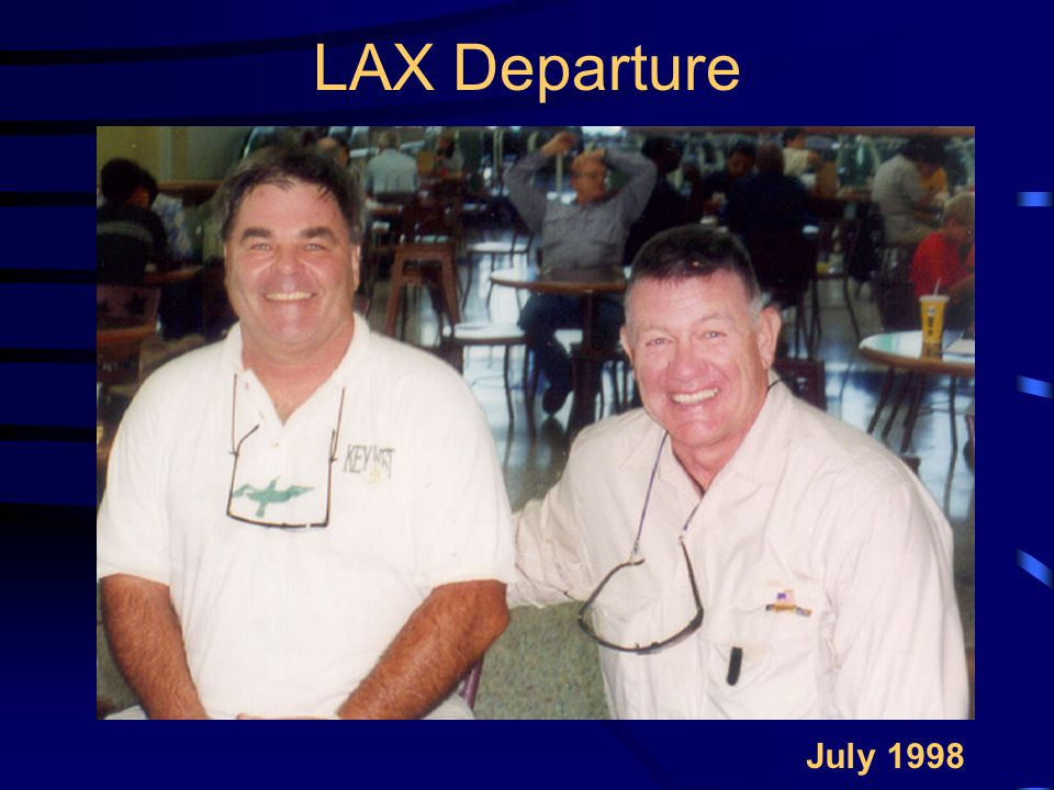 LAX Departure July 1998