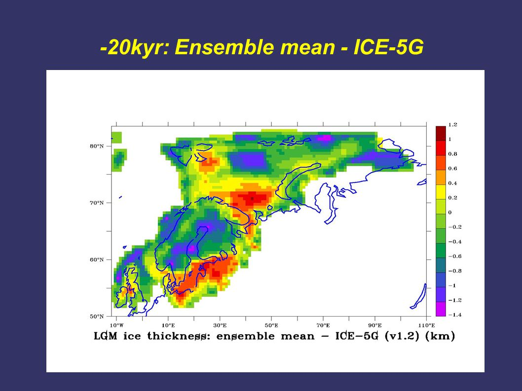 -20kyr: Ensemble mean - ICE-5G