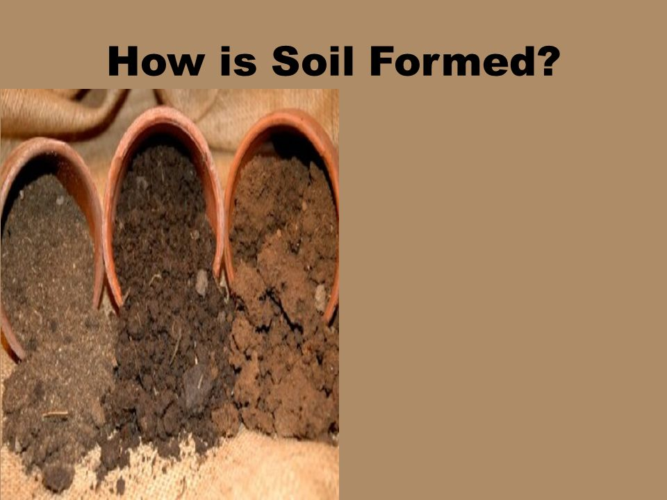How is Soil Formed?
