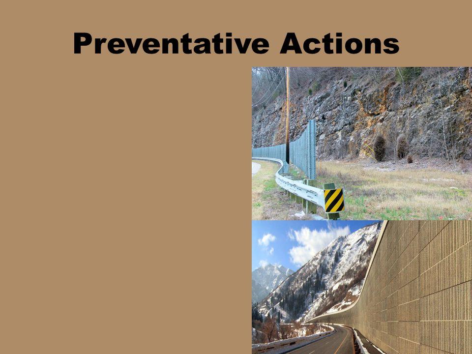 Preventative Actions