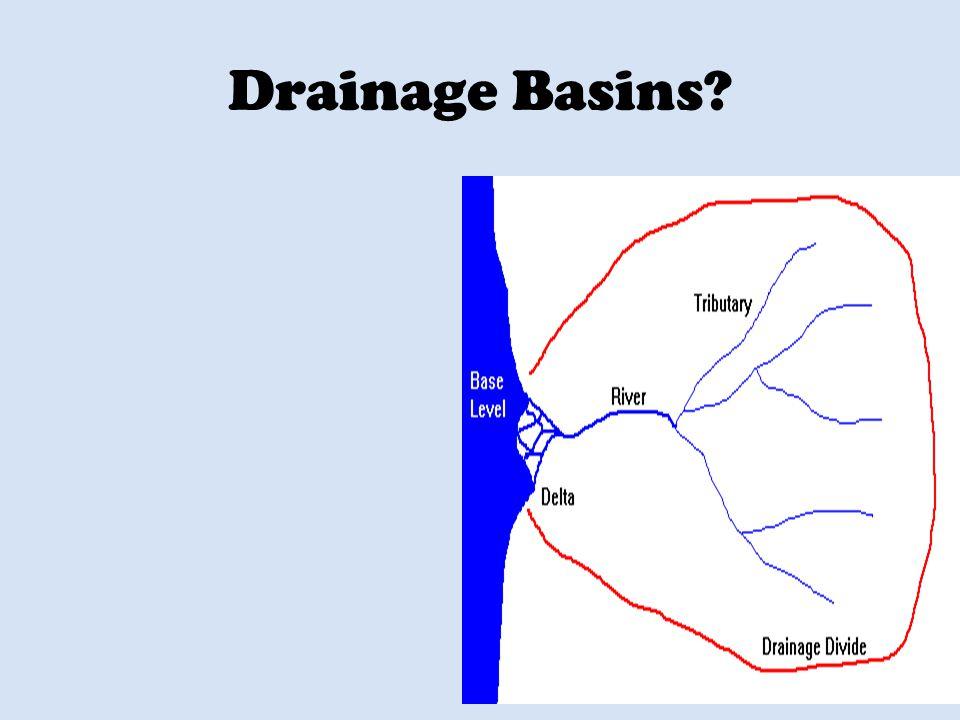 Drainage Basins?