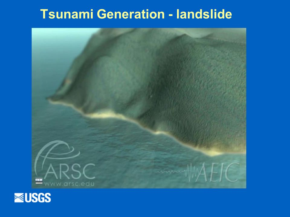 Tsunami Generation - landslide