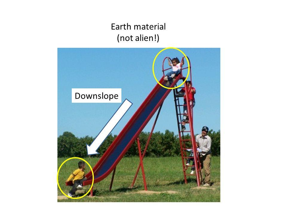 Earth material (not alien!)