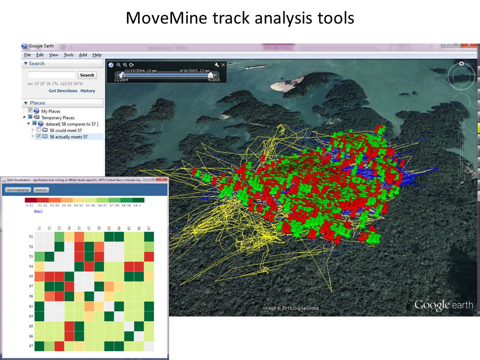 MoveMine track analysis tools