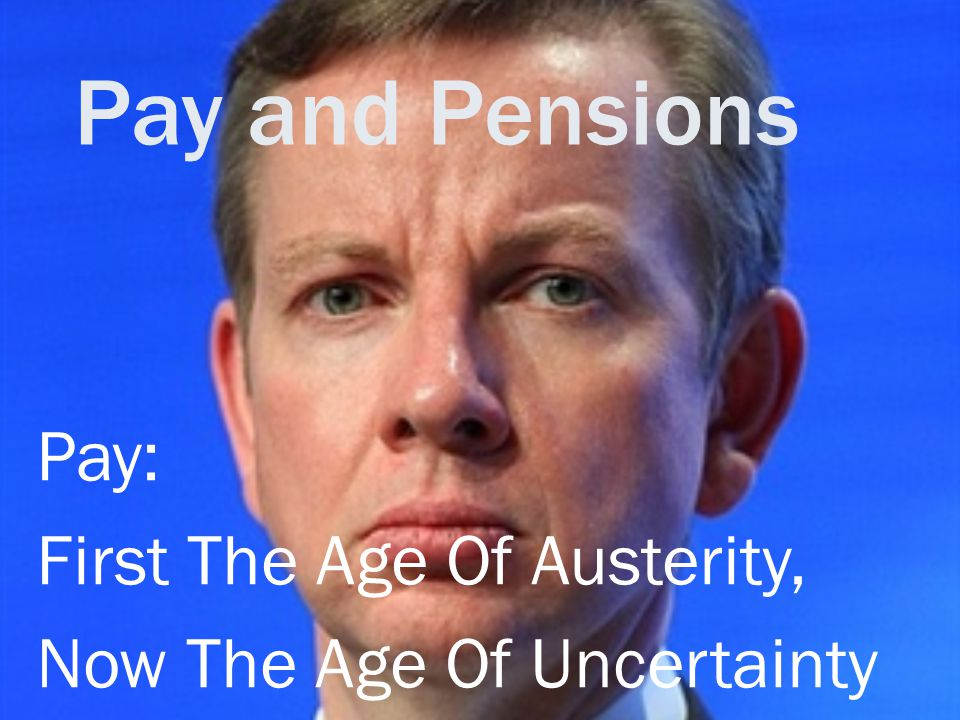 Pay and Pensions Pay: First The Age Of Austerity, Now The Age Of Uncertainty