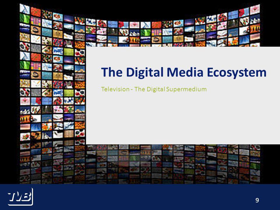 9 Television - The Digital Supermedium The Digital Media Ecosystem