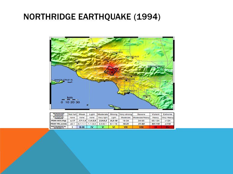 NORTHRIDGE EARTHQUAKE (1994)