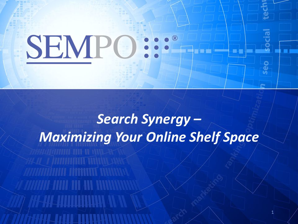 Search Synergy – Maximizing Your Online Shelf Space 1