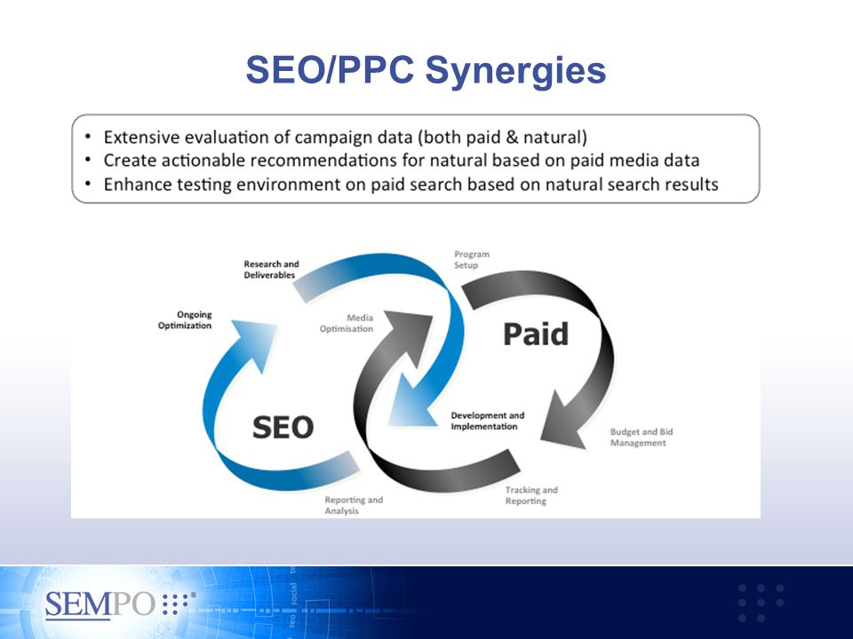 SEO/PPC Synergies