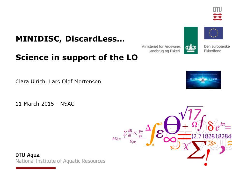 11/03/2015 NSAC12DTU Aqua, Technical University of Denmark Dolder et al. 2014 Dolder et al., 2014