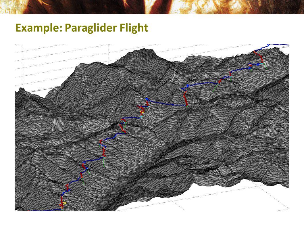 Example: Paraglider Flight