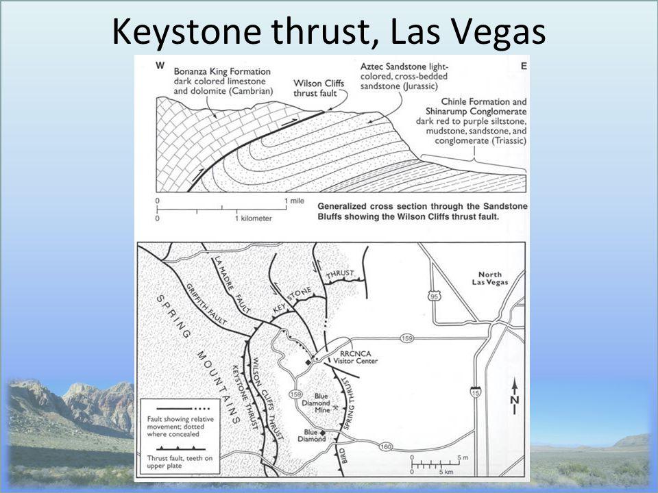 Keystone thrust, Las Vegas