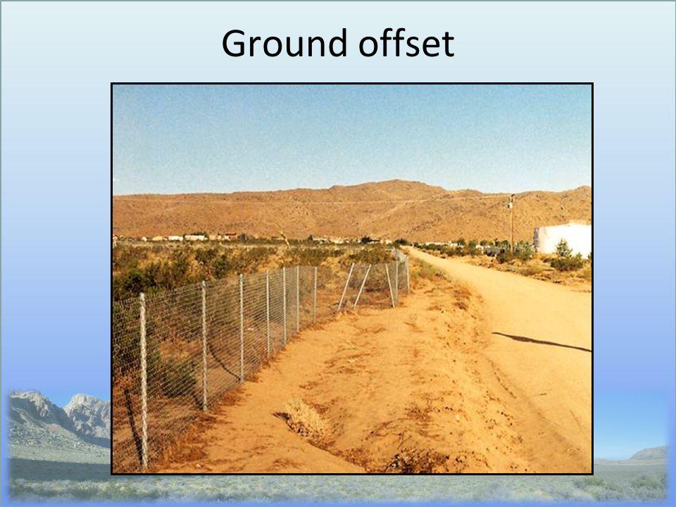 Ground offset