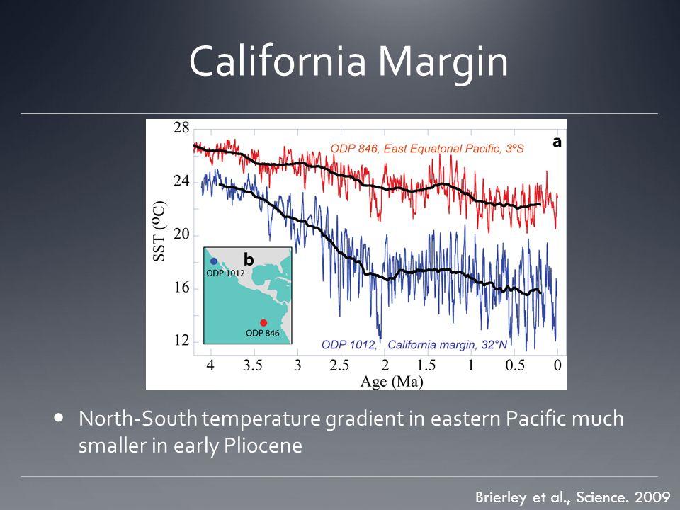 California Margin Brierley et al., Science.