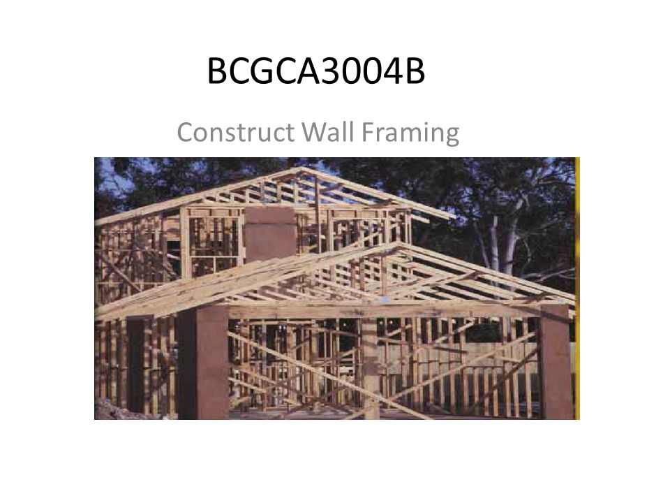 Construct Wall Frames Number Wall Frames Clock Wise Direction Internal Walls Left to Right Top To Bottom
