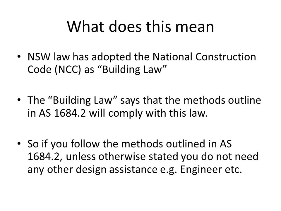 Confirmation of Learning - Answer Determine Minimum Member Size Based on Following Data (Conventional Floor System) Roof Load Width4100mm Truss Spacing600mm Joist Spacing600mm Stud90mm Wide Roof MaterialTile Minimum Size2/ 70 x 45 Determine Minimum Member Size Based on Following Data (Concrete Slab) Roof Load Width4100mm Truss Spacing600mm Joist SpacingN/A Stud70mm Wide Roof MaterialTile Minimum Size70 x 35 (Nominal as Fully Supported)