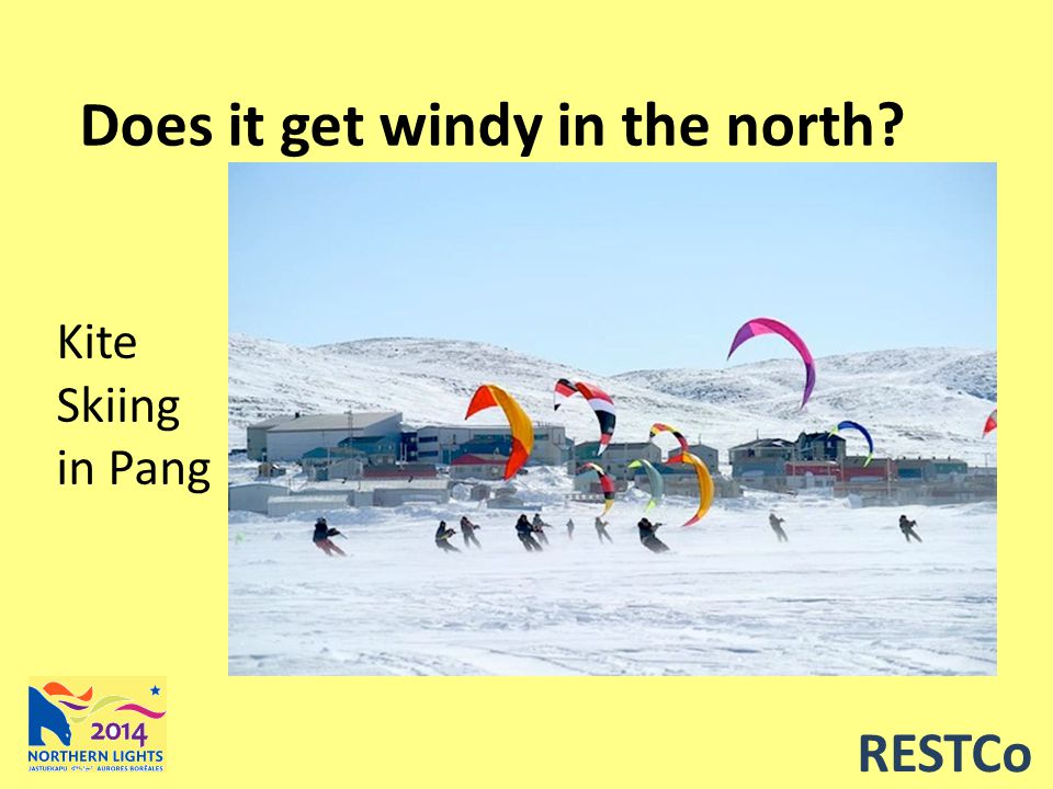RESTCo Does it get windy in the north Kite Skiing in Pang