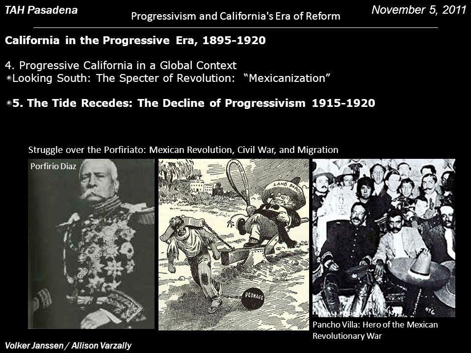Struggle over the Porfiriato: Mexican Revolution, Civil War, and Migration Porfirio Diaz Pancho Villa: Hero of the Mexican Revolutionary War Volker Ja