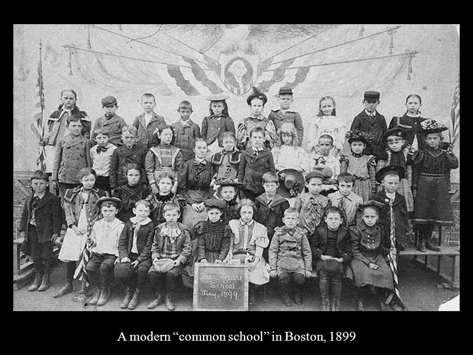 A modern common school in Boston, 1899