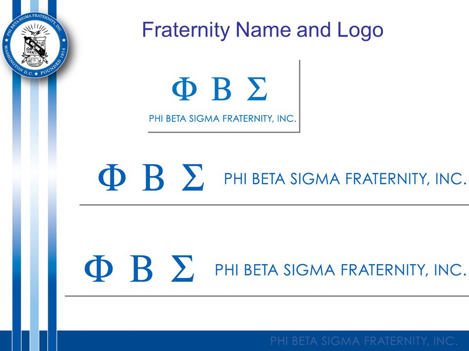 Fraternity Name and Logo