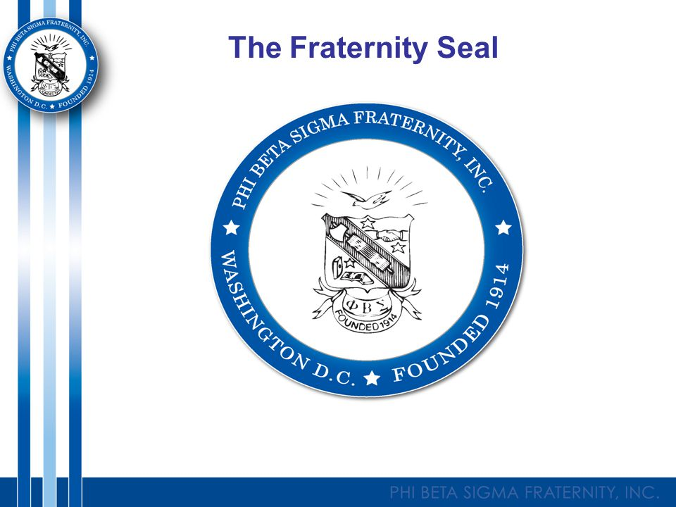The Fraternity Seal