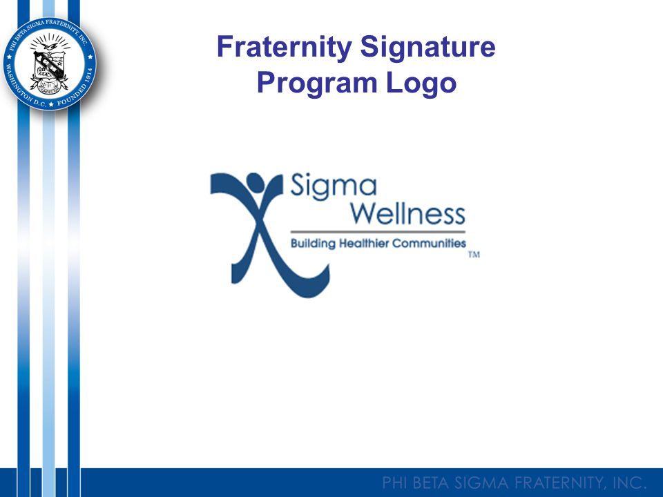 Fraternity Signature Program Logo
