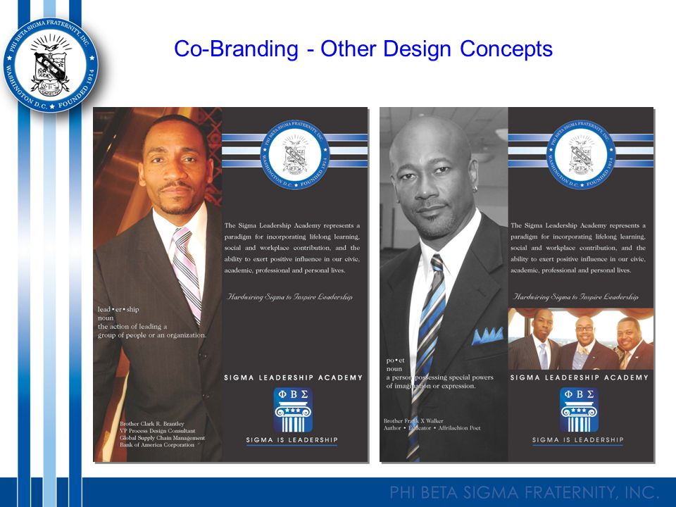 Co-Branding - Other Design Concepts