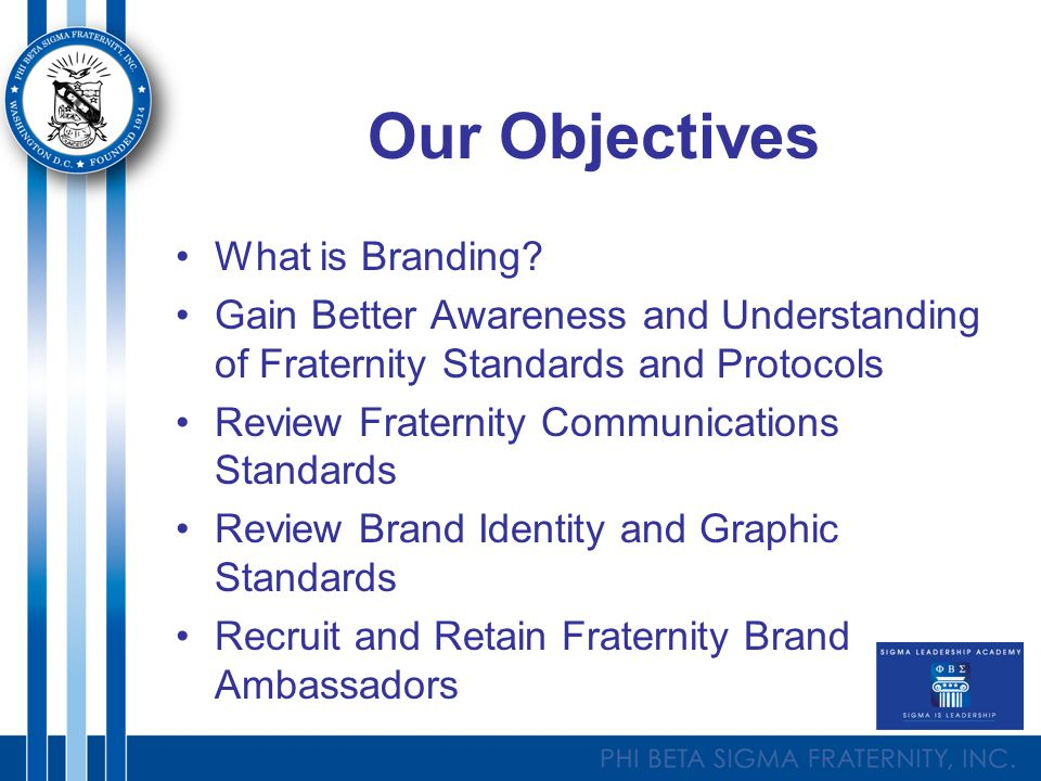 Our Objectives What is Branding.