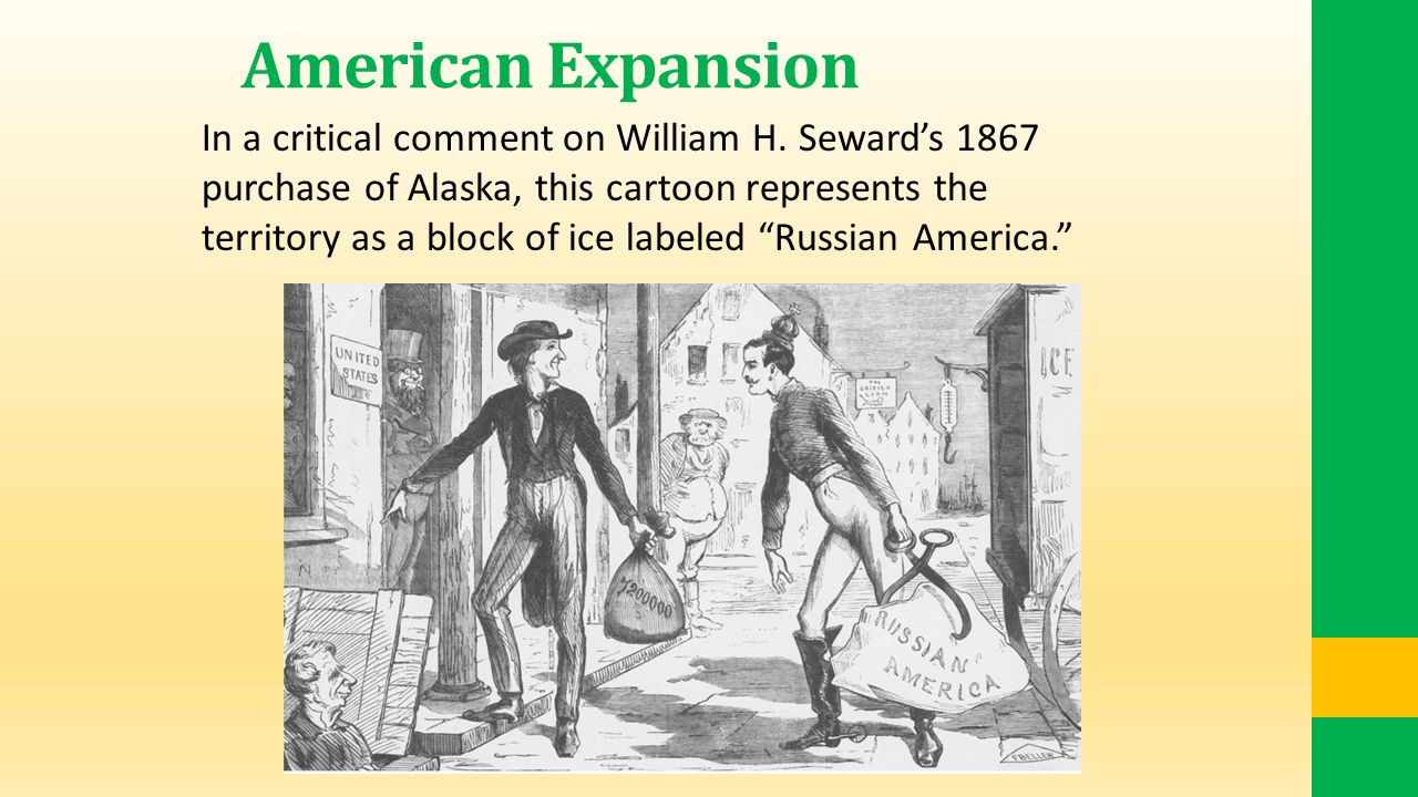 American Expansion In a critical comment on William H.