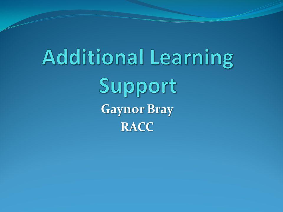 Gaynor Bray RACC