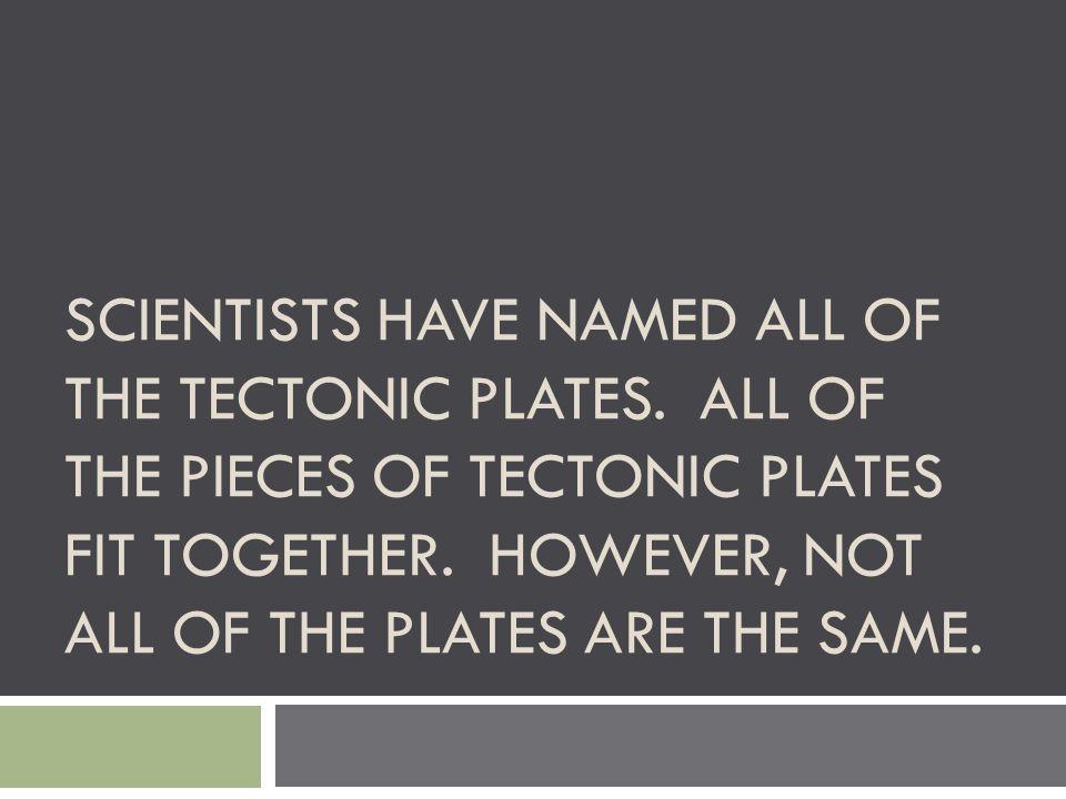 LOOK AT FIGURE 4; LOOK AT ALL 10 MAJOR TECTONIC PLATES.