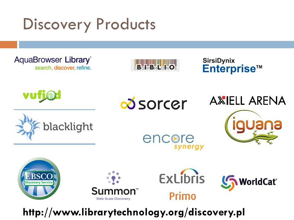 Open Discovery Initiative  NISO Work Group to Develop Standards and Recommended Practices for Library Discovery Services Based on Indexed Search  Informal meeting called at ALA Annual 2011  Co-Chaired by Marshall Breeding and Jenny Walker  Term: Dec 2011 – May 2013