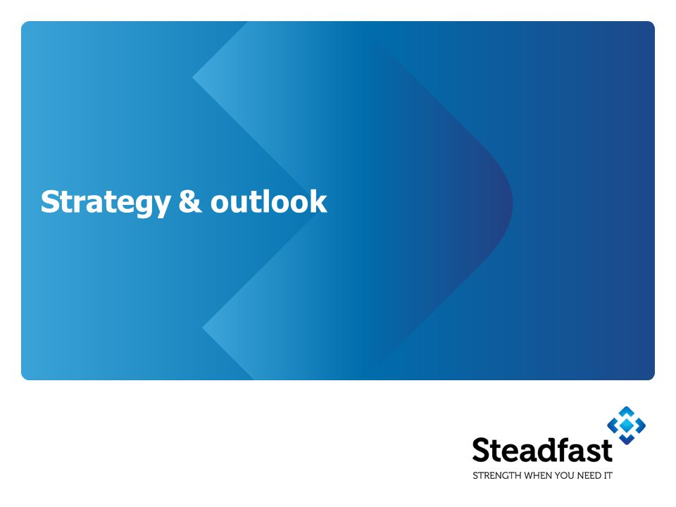 Strategy & outlook